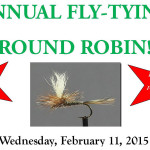 Annual Fly-Tying Round Robin February 11