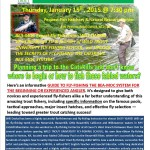 Brodhead TU Vice-President Daskal Details Catskill Fly-Fishing in Oxford, N.J. on January 15