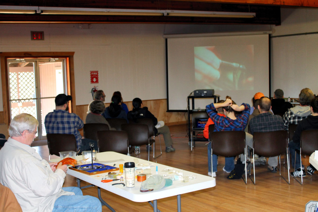 Brodhead Trout Unlimited members presented an Introduction to Fly-Fishing class at PEEC