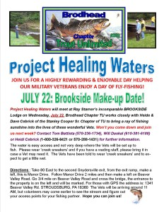 Healing Waters Brookside BTU Flyer 2015