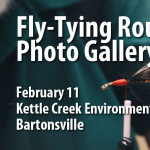 February Fly-Tying Round Robin Photo Gallery