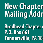 New Mailing Address for Brodhead Chapter of Trout Unlimited