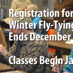 Registration Open for Brodhead Trout Unlimited 2017 Introduction to Fly-Tying Class, Begins January 4