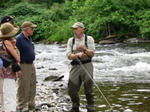 Don Baylor Teaching Fly Fishing