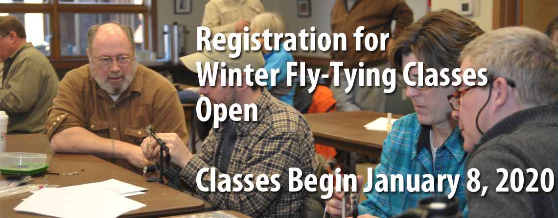 Winter Fly-Tying Class Registration Open